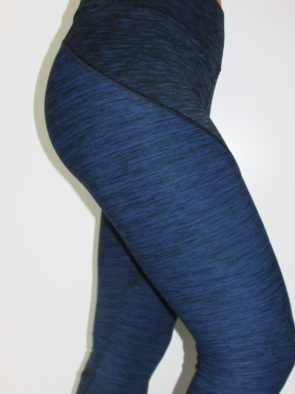 Legging Double Groove - Marinho