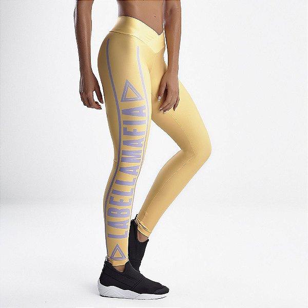 Legging FCL13486 Amarelo - M - LBM