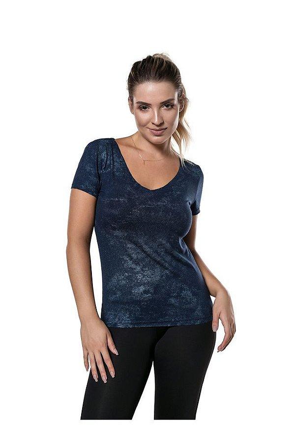 T-Shirt Sky Night - Azul - ABSY