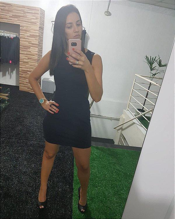 Vestido Suplex - Preto