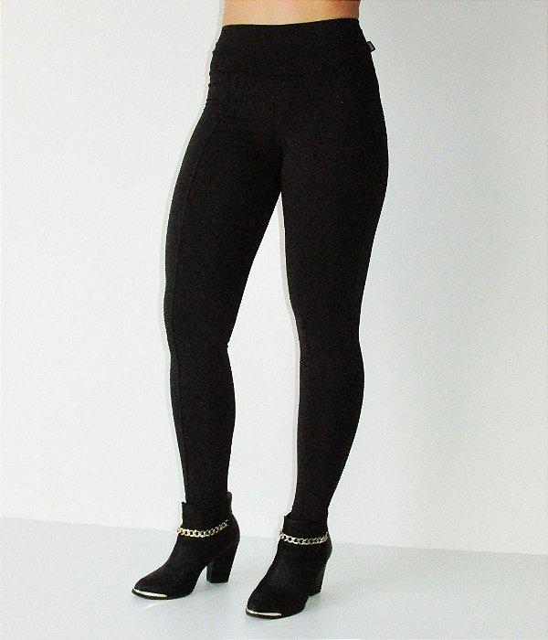 Legging Montaria Com Bolso Peluciada - Térmica