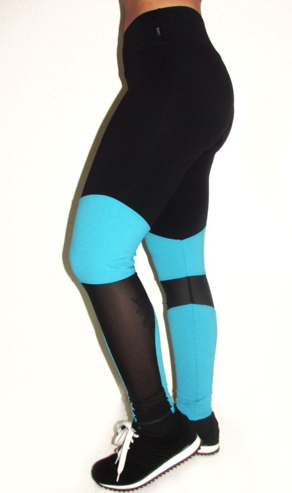 Legging Tule Fashion Suplex