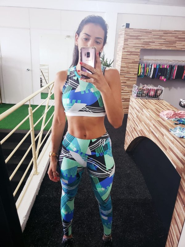 Legging Light Estampada