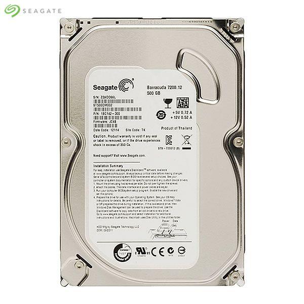 HD 500GB Seagate SATA 3,5´ Desktop HDD 7200RPM 16MB Cache SATA 6Gb/s - ST500DM002