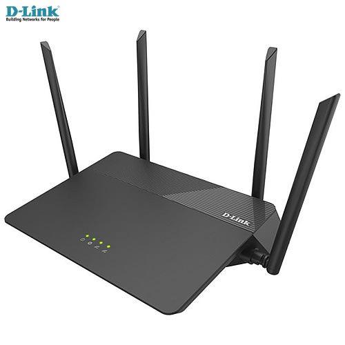 Roteador D-link Wireless AC 1900Mbps Dualband 2,4 & 5GHz 802.11AC com 4 antenas externas 5dBi DIR-878