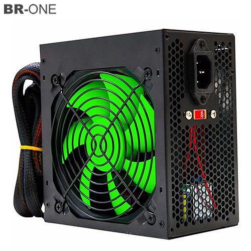 Fonte de Alimentação ATX BR ONE 24P Fan 12cm 700W Real - c/cabo - Box