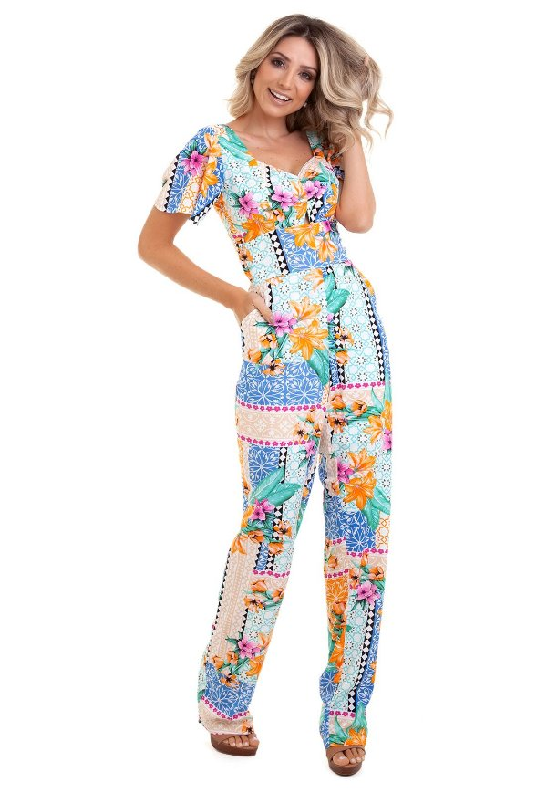2dd901402 Macacão longo estampado decote costas loja de roupas femininas jpg 600x869 Longo  macacao roupa