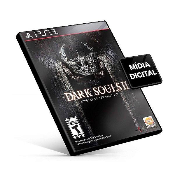 Dark Souls II: Scholer Of The First Sin - PS3 Mídia Digital