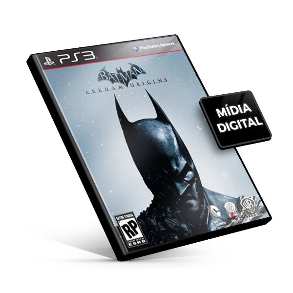 Batman Arkham Origins - PS3 Mídia Digital