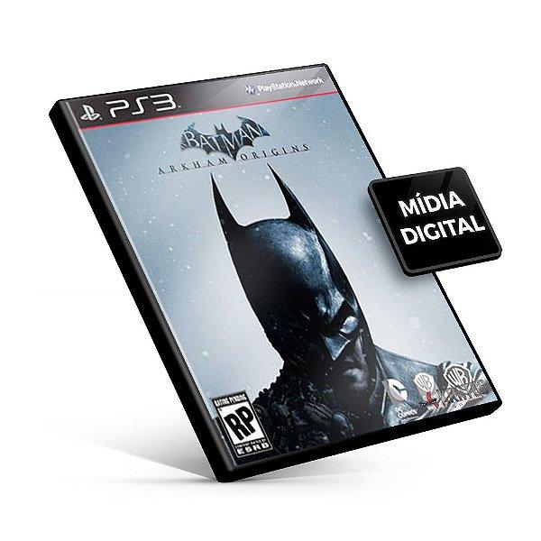 Batman Arkham Origins - PS3 Mídia Digital