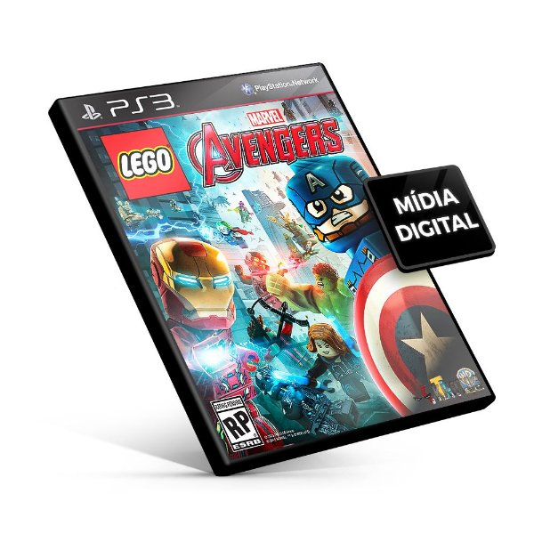 Lego Marvel's Avengers - PS3 Mídia Digital