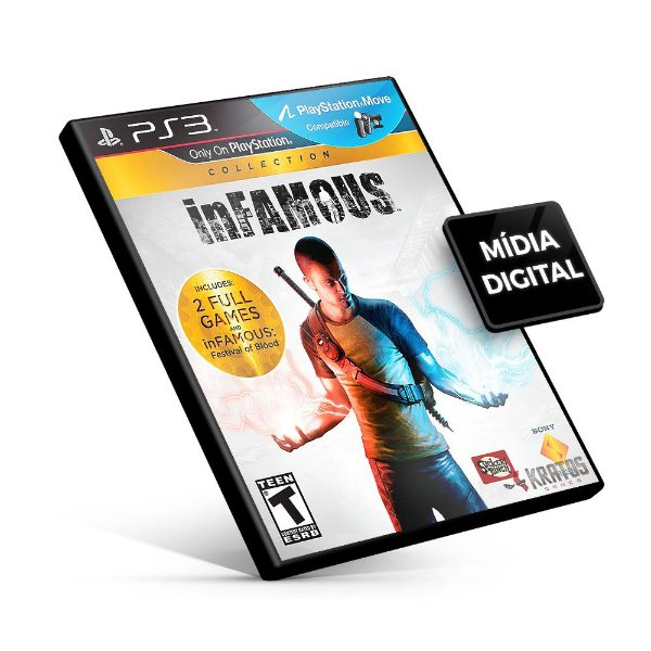 Infamous Collection - PS3 Mídia Digital