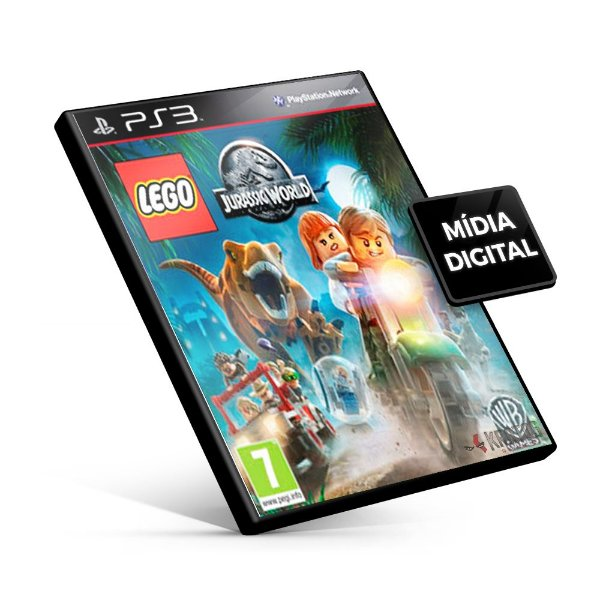 Lego Jurassic World - PS3  Mídia Digital