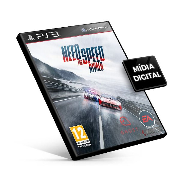 Need For Speed Rivals - PS3 Mídia Digital