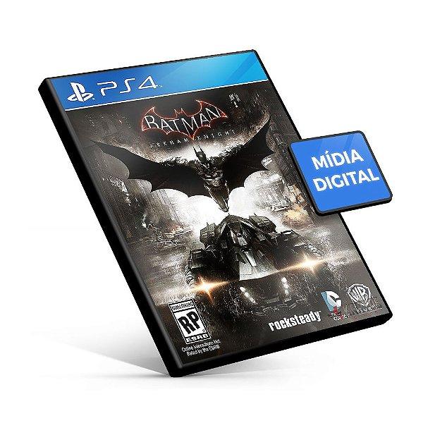 Batman: Arkham Knight - PS4 Mídia Digital