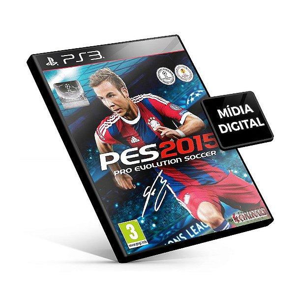 PES Pro Evolution Soccer 2015 - PS3 Mídia Digital