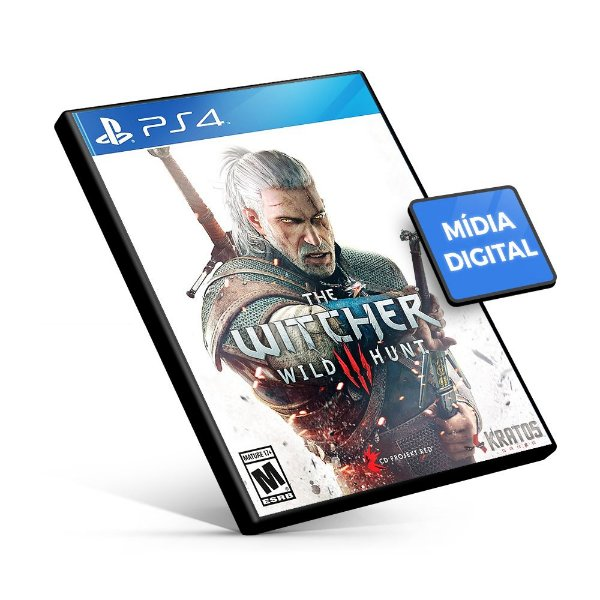 The Witcher 3 Wild Hunt - PS4 Mídia Digital
