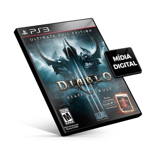 Diablo 3 Reaper Of Souls - PS3 Mídia Digital