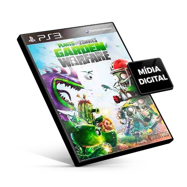 Plants Vs Zombies Garden Warfare - PS3 Mídia Digital