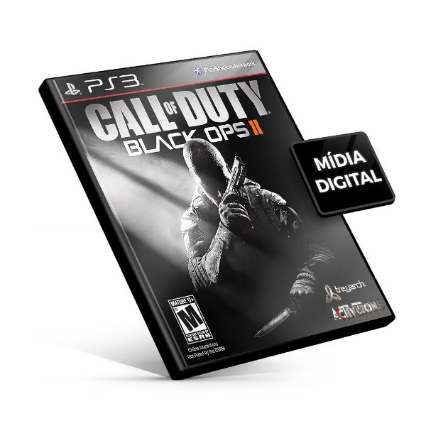 Call Of Duty Black Ops 2 - PS3 Mídia Digital