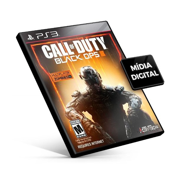 Call Of Duty Black Ops 3 - PS3 Mídia Digital