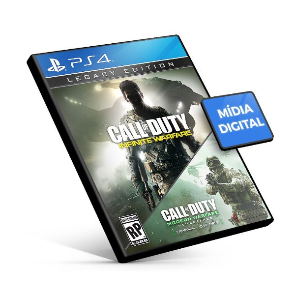 Call of Duty®: Infinite Warfare - Legacy Edition - PS4 Mídia Digital