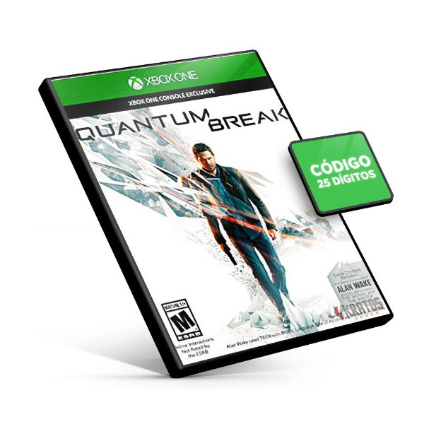 Quantum Break - Xbox One Mídia Digital - Código 25 Dígitos