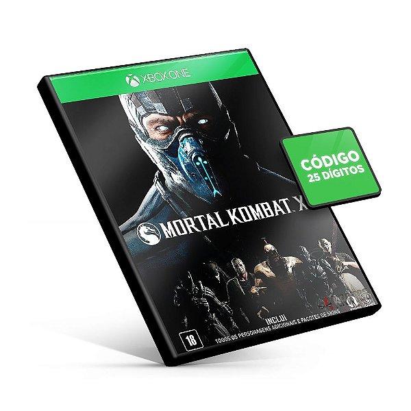 Mortal Kombat XL - Xbox One - Código 25 Dígitos