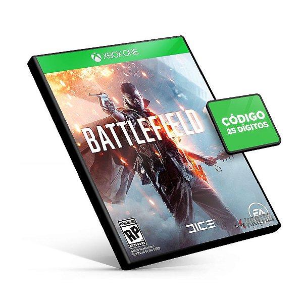 Battlefield 1 - Xbox One - Código 25 Dígitos