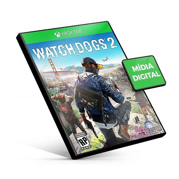 Watch Dogs 2 - Xbox One - Código 25 Dígitos