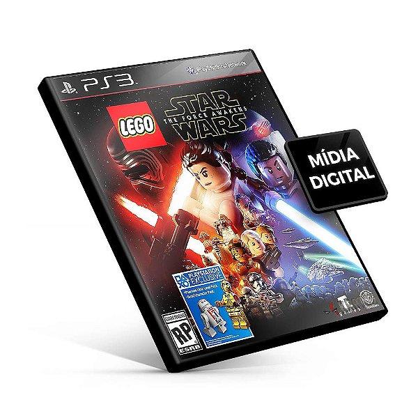 Lego Star Wars: The Force Awakens - PS3 Mídia Digital