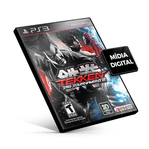 Tekken Tag Tournament 2 - PS3 Mídia Digital