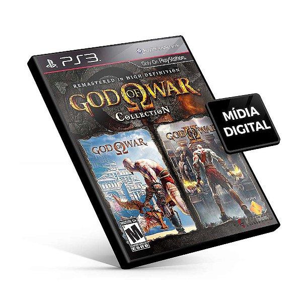Coleção do God of War - PS3 Mídia Digital