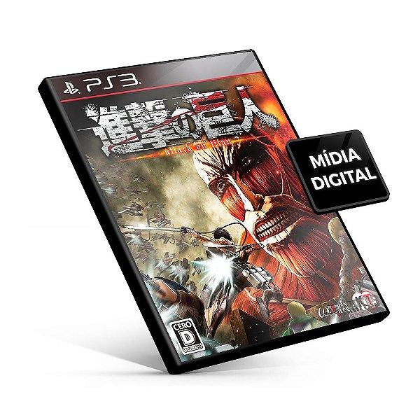 Attack on Titan - PS3 Mídia Digital