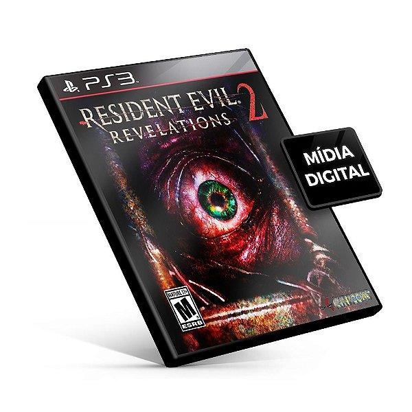 Resident Evil Revelations 2 Edição de Luxo - PS3 Mídia Digital