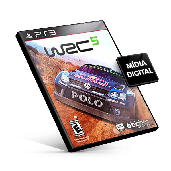 WRC 5 FIA World Rally Championship - PS3 Mídia Digital