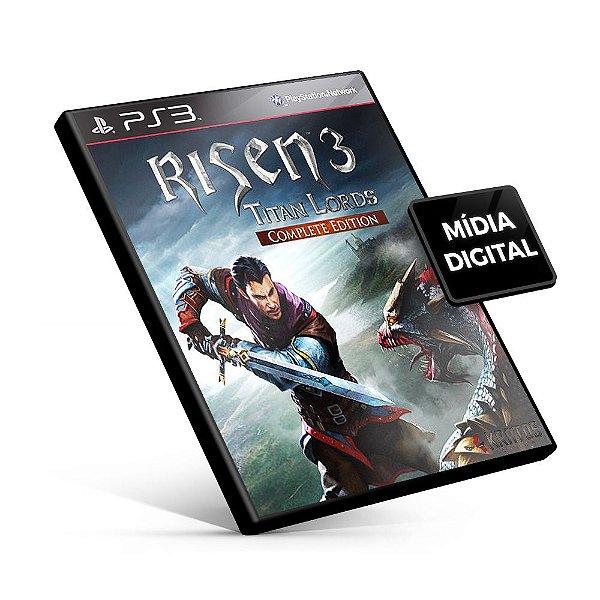 Risen 3 Titan Lords - Complete Edition - PS3 Mídia Digital