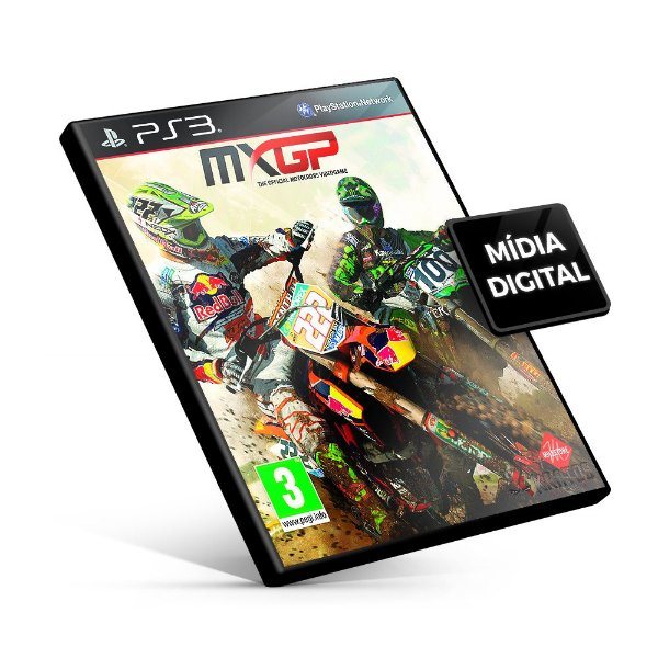MXGP - The Official Motocross Videogame - PS3 Mídia Digital