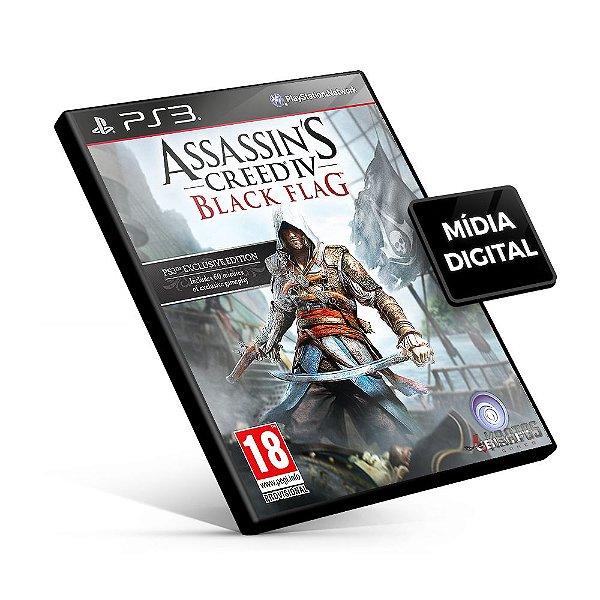 Assassin's Creed® IV Black Flag™ - PS3 Mídia Digital
