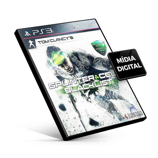 Tom Clancy's Splinter Cell® Blacklist™ Ultimate Edition - PS3 Mídia Digital