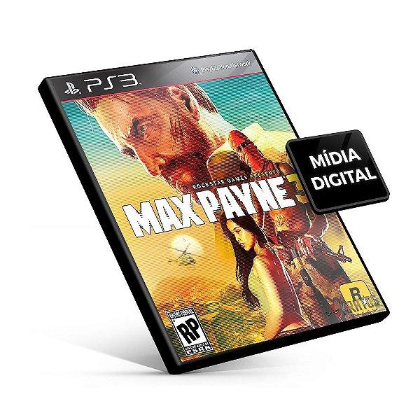 Max Payne®3 - PS3 Mídia Digital