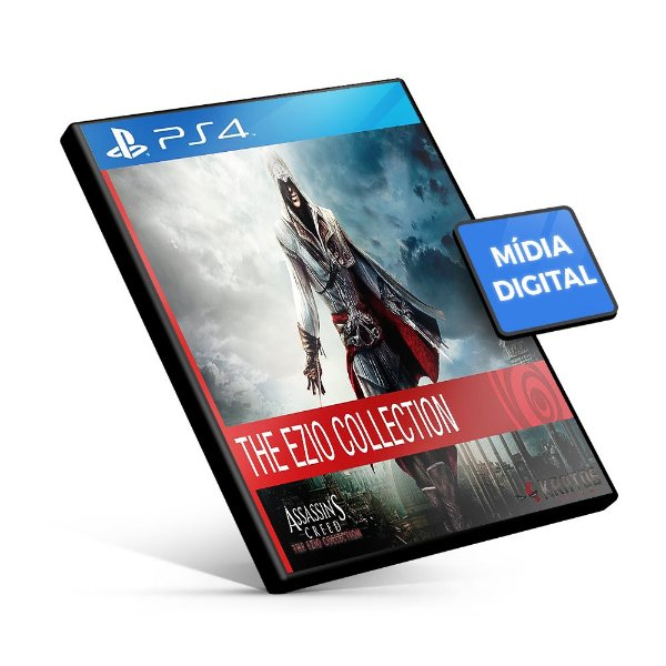 Assassin's Creed® The Ezio Collection - PS4 Mídia Digital