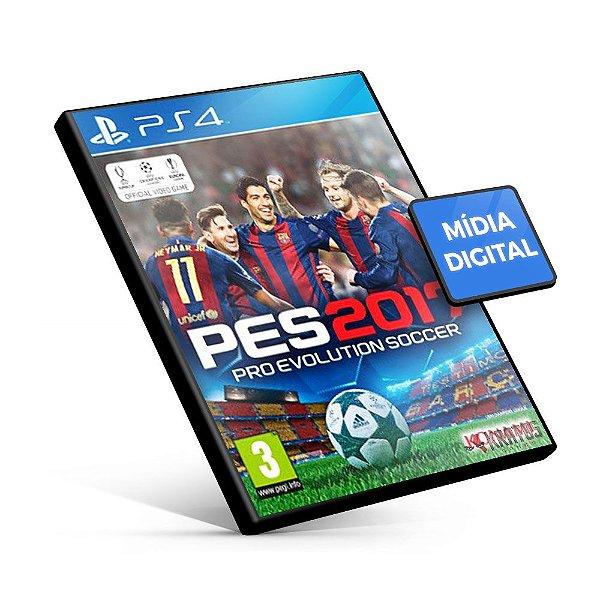 PES Pro Evolution Soccer 2017 - PS4 Mídia Digital