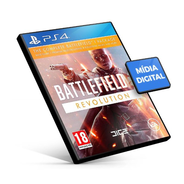 Battlefield 1 Revolution - PS4 Mídia Digital