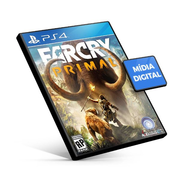Far Cry Primal - PS4 Mídia Digital