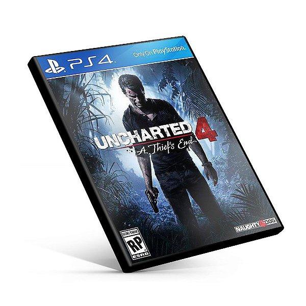 Uncharted 4: A Thief's End - PS4 Mídia Digital