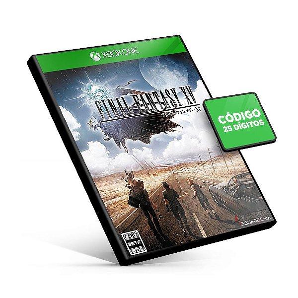 Final Fantasy XV - Xbox One - Código 25 Dígitos