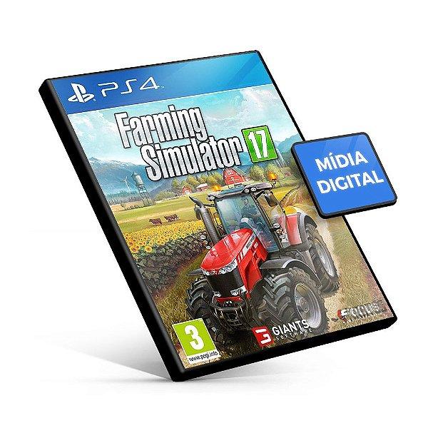 Farming Simulator 17 - PS4 Mídia Digital