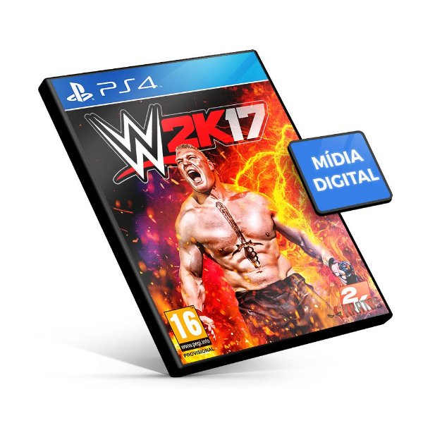 WWE 2k17 - PS4 Mídia Digital