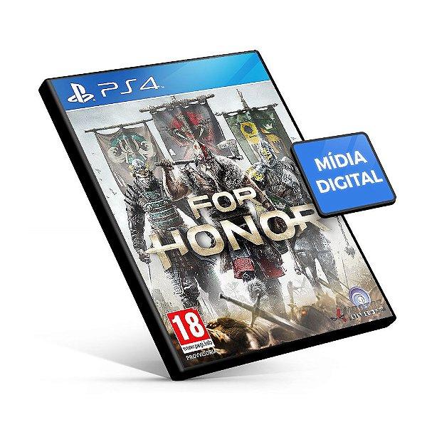 For Honor - PS4 Mídia Digital